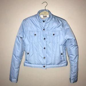 Nike crop puffy jacket